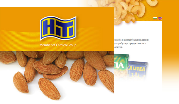 HiTi Nuts & Dried Fruits website