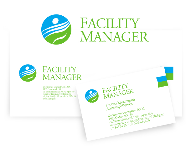 Facility Manager logotype & CI design